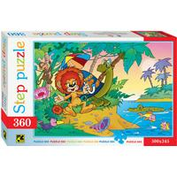 Step Puzzle The Lion & the Turtle 360 Pieces