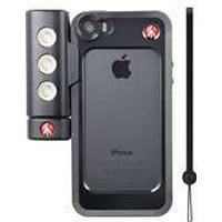 Manfrotto cover iPhone 5/5S/SE KLYP - sort