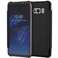 Not specified Clear View Mobile Case for Samsung Galaxy S8 Plus - Black