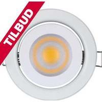 VelLight - LED indbygningsspot - 230V / 5W, GU10 sokkel, Varm Hvid TILBUD NU