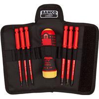 BAHCO skruetrækkersæt med udskiftelig klinger