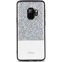 JOYROOM Dazzling Series Skal till Samsung Galaxy S9 TPU Hårdplast Glitter  Vit e3fe9752ce52f
