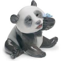 Lladro A Happy Panda 8cm Figur