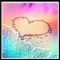 NAIYUE 6114 Love Print Draw 5D Diamond Painting Diamond Embroidery