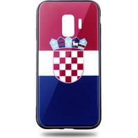 Snyggt Galaxy S9 mobilskal i Kroatiens flagga