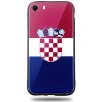 Snyggt iPhone 5/5S/SE mobilskal i Kroatiens flagga