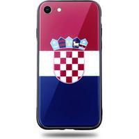 Snyggt iPhone 6/6S Plus mobilskal i Kroatiens flagga