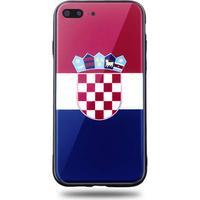 Snyggt iPhone 7/8 Plus mobilskal i Kroatiens flagga