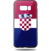 Snyggt Galaxy S8 mobilskal i Kroatiens flagga