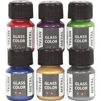 Glass Color Metal 6x35ml