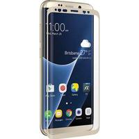 Samsung Galaxy S8+ 3Sixt Edge to Edge Härdat Glas Skärmskydd - Guld