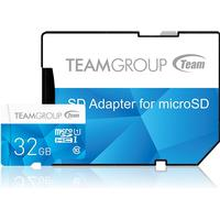 Team Group Color microSDHC Class 10 UHS-I U1 80/15MB/s 32GB +Adapter