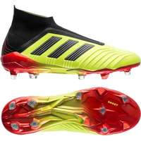best service b9746 f73cd Adidas Predator 18+ FG M - Black Red Yellow