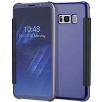 Not specified Clear View Mobile Case for Samsung Galaxy S8 Plus - Navy Blue