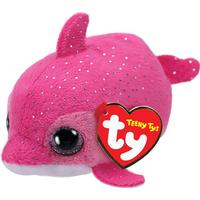 TY Teeny Floater Pink Dolphin 10cm