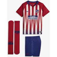 Nike Atletico de Madrid Home Stadium Jersey Mini Kit 18/19 Youth