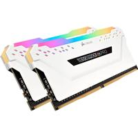 Corsair Vengeance RGB LED Pro White DDR4 2666MHz 2x8GB (CMW16GX4M2A2666C16W)