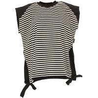Moncler T-Shirt for Women On Sale, Black, Cotton, 2019, 10 6 8