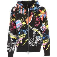 8052471627639 Versace Sweatshirt for Men On Sale, Black, Cotton, 2019, L M S XL
