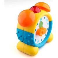 Junior Knows Clock with Light & Sounds