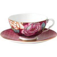 Wedgwood Tea Garden Raspberry Tekop 17 cl