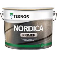 Teknos Nordica Primer Träfärg Vit 0.9L