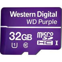 Western Digital WD Purple microSDHC Class 10 UHS-I U1 80/50MB/s 32GB