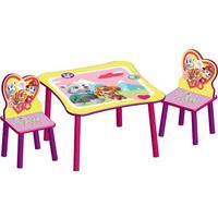 Delta Children Paw Patrol Skye & Everest Table & Chair Set with Storage