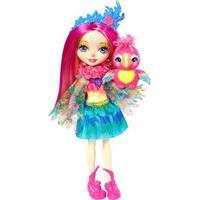 Mattel Enchantimals Peeki Parrot Doll