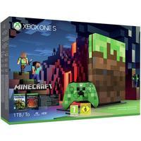 Microsoft Xbox One S 1TB - Minecraft Limited Edition