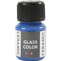 Glass Color Ceramic Paint Brilliant Blue 35ml