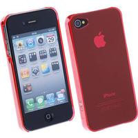 Caze zero 5 (0.5mm) ultra tunn skal till iphone 4 (rosa )