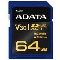 Adata Premier Pro SDXC Class 10 UHS-I U3 V30 95/90MB/s 64GB