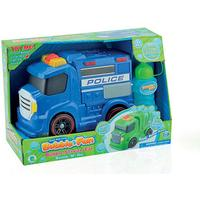 Bubble Police Car with Light & Sound