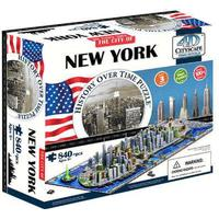 4D Cityscape New York 840 Pieces
