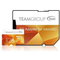 Team Group Color microSDXC Class 10 UHS-I U1 80/20MB/s 128GB +Adapter