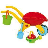 Gowi Toys Design Wheelbarrow Set, Blue,Green,Red,Yellow