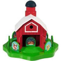 Learning Resources Peekaboo Barn Game, Green,Red,White