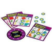 Learning Resources Rainbow Fraction Bingo, Purple,White,Yellow