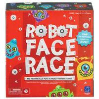 Learning Resources Robot Face Race Game, Grey,Red