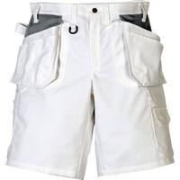 Fristads Kansas ProCotton shorts, 100% bomull, Vit