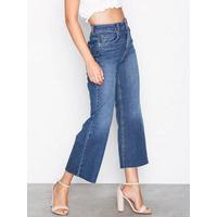 540017524c5 Gina Tricot Lo wide cropped jeans Bootcut & Flare Mid Blue