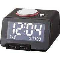 Digital alarmklocka med laddningsfunktion