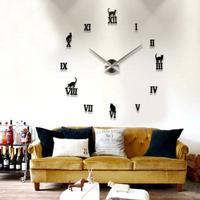 klocka vägg lösa siffror