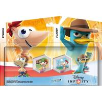 Disney Infinity Phineas Ferb Toy Box Pack (#) (Video Game Toy)