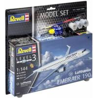 REVELL Model Set Embraer 190 Lufthan