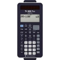 Texas Instruments Skolelommeregner Texas Instruments TI-30X Plus MathPrint Sort Display (indstil): 16 Batteridrevet, solcelle-drift