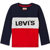 Levis KidsColor Block T-Shirt Marinblå/Röd10 years