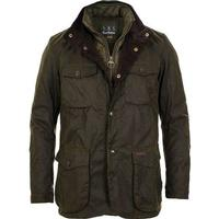 Barbour Lifestyle Ogston Waxed Jacket Olive