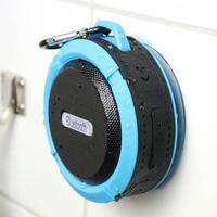 Vattentät högtalare med bluetooth, Blå
